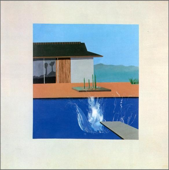 La gerbe d'eau, 1966. Acrylique sur toile, 183 x 183 cm